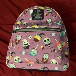 Tim Burton's Nightmare B4 Christmas xloungefly bag